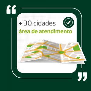 Vermello Embalagens Atende em mais de 30 cidades - região metropolitana de Campinas e circuito das águas