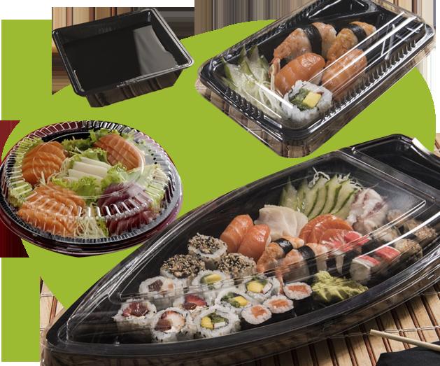 Embalagem para culinária japonesa