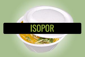 Embalagens de Isopor