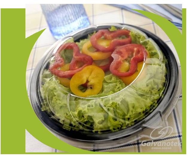 Embalagem Saladeira